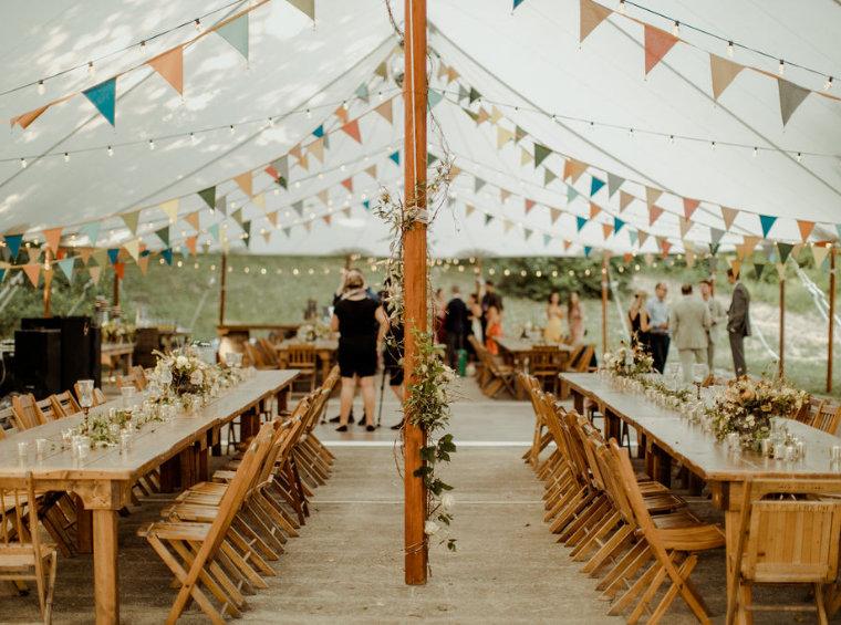 Event Essentials Sailcloth Tent